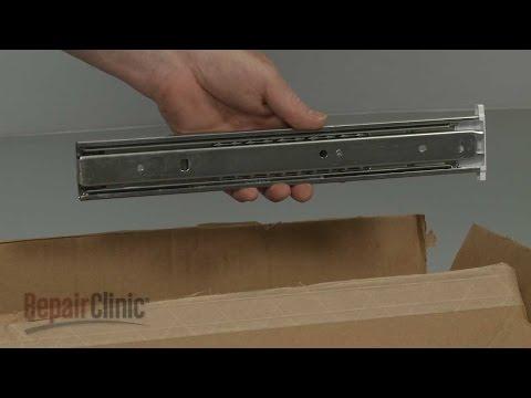 Deli Drawer Slide Rail - Frigidaire Refrigerator