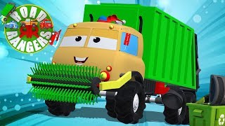 Frank The Garbage Truck | Road Rangers Videos For Children