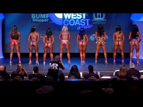 NPC West Coast Bikini Class Pre Judging