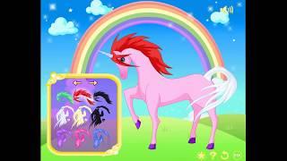 Сказочные прекрасные пони игра для маленьких принцесс