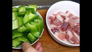 苦瓜炆澳洲豬腩肉 / 價錢不貴 / 沒有加鹽除苦味 Braised Pork with bitter melon 【20無限】