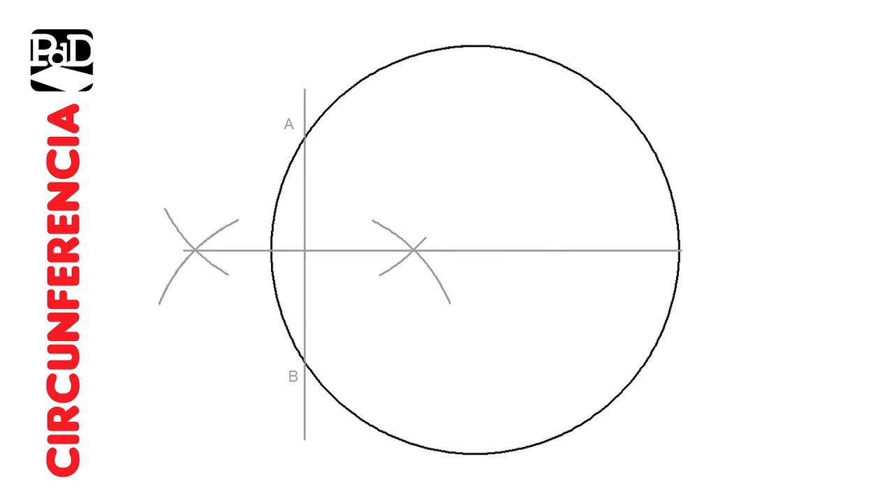 Dividir una Circunferencia o Círculo en 2 partes iguales SIN conocer el Centro.