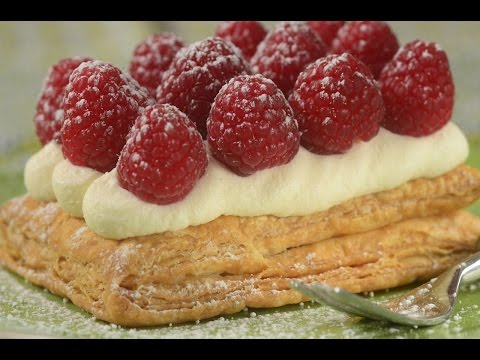 Puff Pastry Tarts Recipe Demonstration - Joyofbaking.com