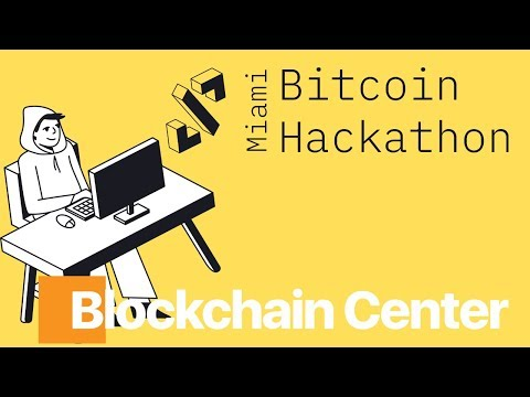 Miami Bitcoin Hackathon Hosted By The Blockchain Center