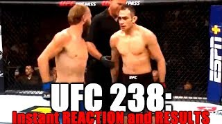 UFC 238: Reaction and Results