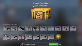 Opening a CS:GO case til a gold appears... DAY 302