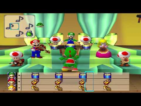 Mario Party 1 - Mario Bandstand Doing Nothing