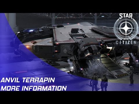 Star Citizen: Anvil Terrapin - More New Info