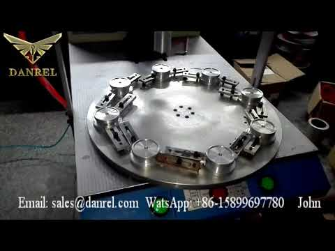 Fully Automatic Ultrasonic Welding Machine Rotary Turntable For LED