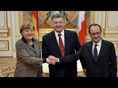 Next stop, Moscow: Merkel and Hollande to present peace plan for Ukraine in Russia