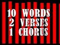 I Know A Song in Ten Words