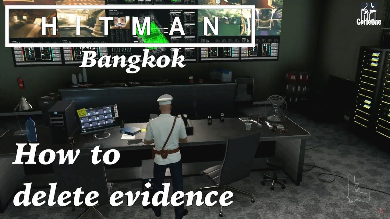 hitman 2016 bangkok security room