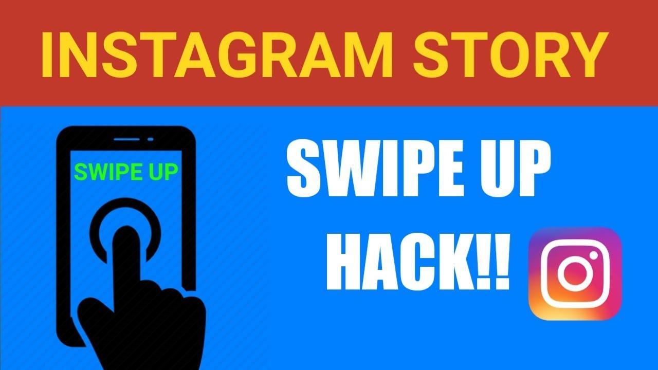 swipe up on instagram without 10k followers