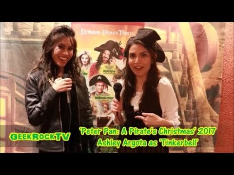 Peter Pan: A Pirate's Christmas 2017  Ashley Argota as 'Tinkerbell'
