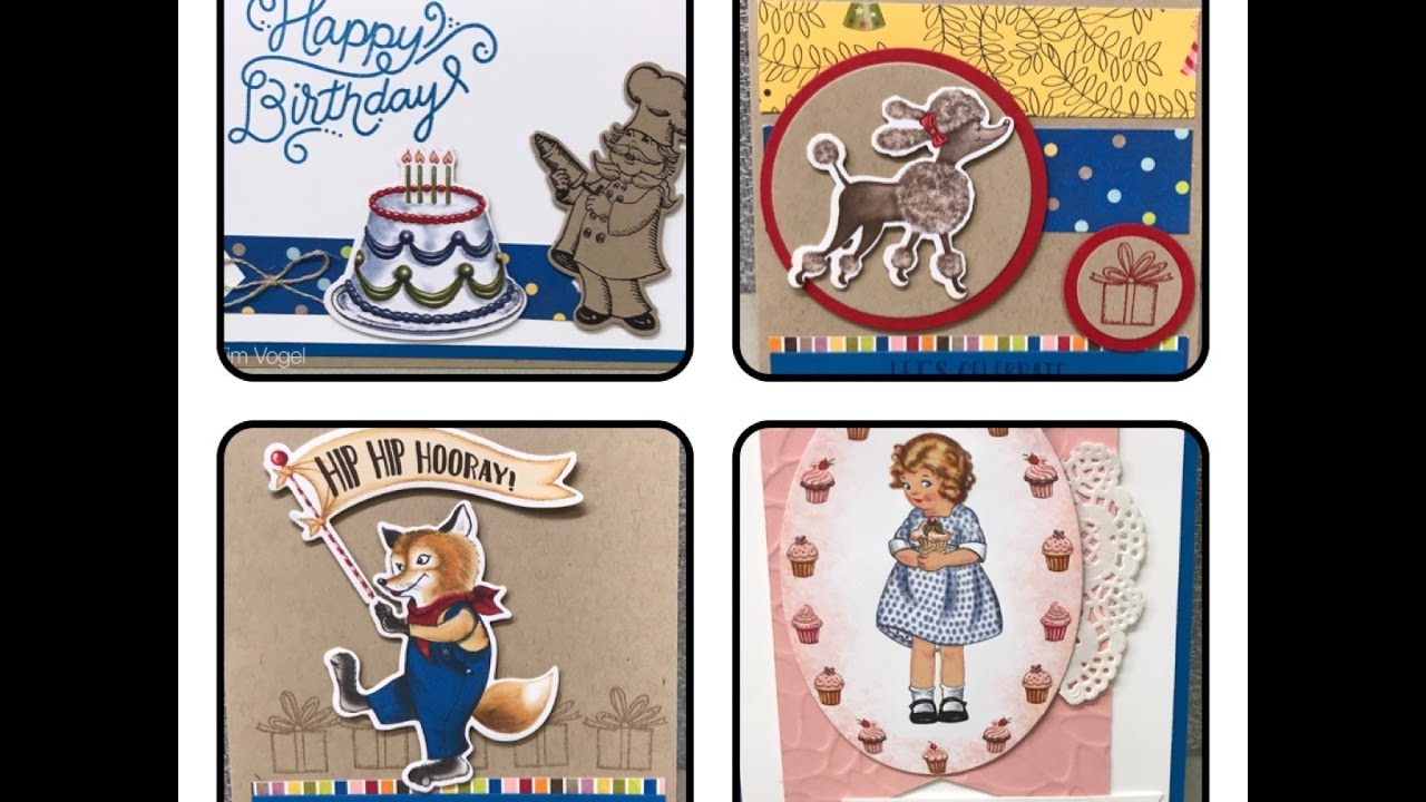 Birthday Delivery Bundle By Stampin Up Cards For All Ages