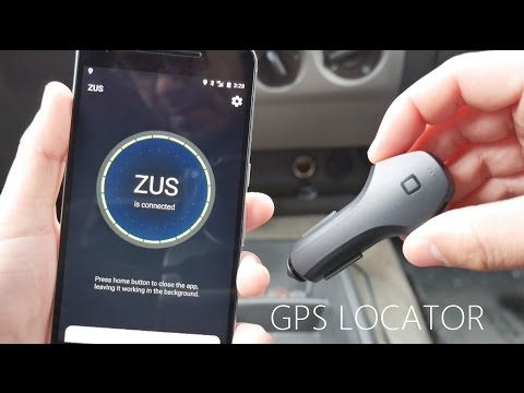 ZUS Nonda: Smart Car Locator and Charger