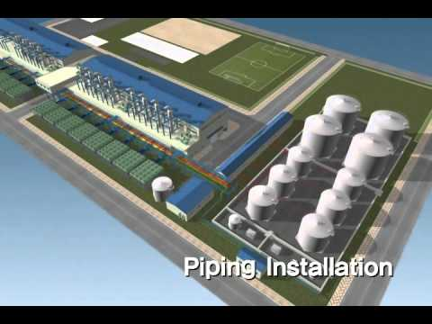 Power Plant Diesel 85 MW MPT Corp STXWMV - YouTube