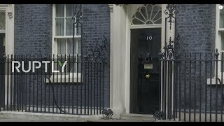 LIVE: May chairs special Brexit meeting after draft deal is made: stakeout