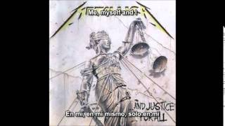 Metallica - Eye Of The Beholder [...And Justice For All Album] (Subititulos Español)