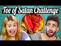 Download WORLD'S HOTTEST LOLLIPOP CHALLENGE! (TOE OF SATAN) | People Vs. Food