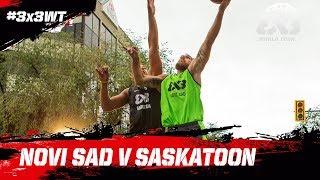 Novi Sad v Saskatoon | Full Game | FIBA 3x3 World Tour 2018 - Saskatoon Masters 2018