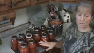 Making & Canning Tomato Juice