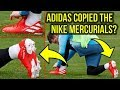 ADIDAS COPIED NIKE'S DESIGN FOR MESSI'S NEW BOOTS?