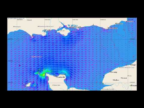 English Channel Tidal Streams GRIB