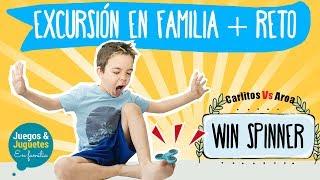 Trucos con SPINNER + excursión en familia // Juegos y juguetes en familia