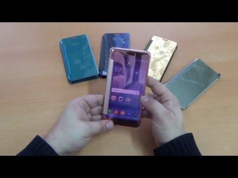 Чехол книжка для Samsung Galaxy A5 SM-A510 (2016) обзор
