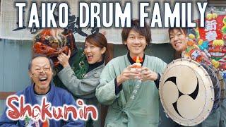 Shokunin | Japanese Taiko Drums 職人シリーズ・和太鼓