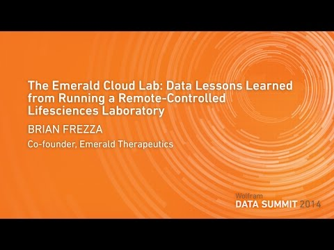 The Emerald Cloud Lab: Data Lessons Learned from Running a Remote-Controlled Lifesciences Laboratory