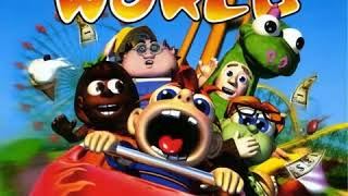 Sim Theme Park / Theme Park World OST - Halloween World
