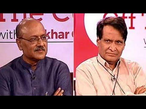 Off The Cuff With Railways Minister Suresh Prabhu