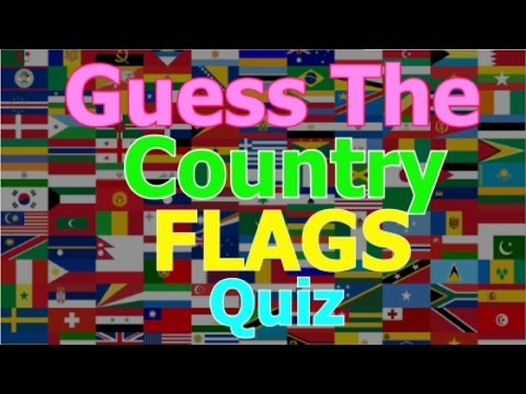 Can You Guess the Country Flags? - FUN WITH FLAGS #1