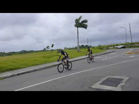 Cycling from St James club Antigua and Barbuda
