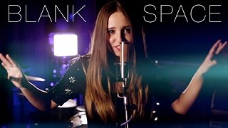 Blank Space - Taylor Swift - Cover by Ali Brustofski (with lyrics) Official Music Video