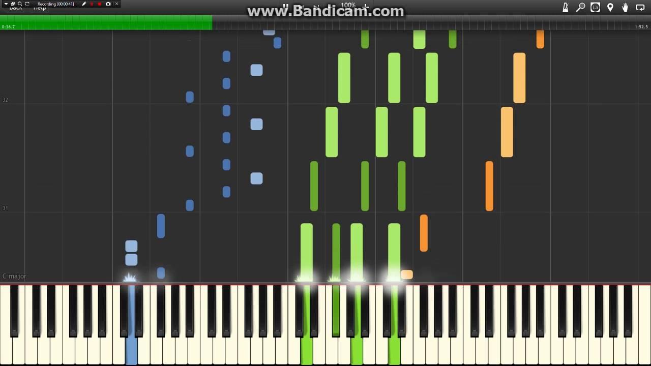 Pokemon Sun & Moon - Wild Battle Theme (Piano Synthesia)