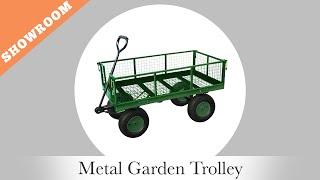 Oypla - Metal Garden Trolley