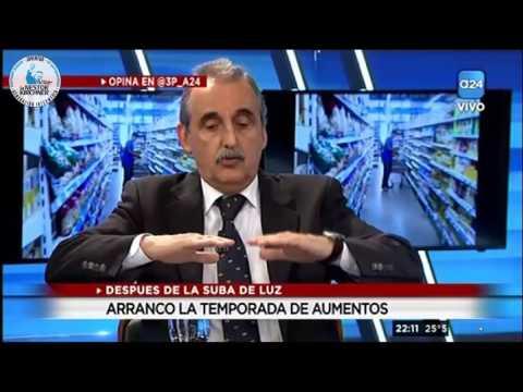 Nota a Guillermo Moreno y Guillermo Nielsen en  A24