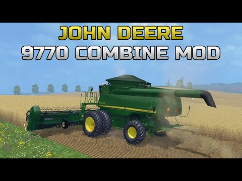 how to turn on harvester on combine farming simulator 2015