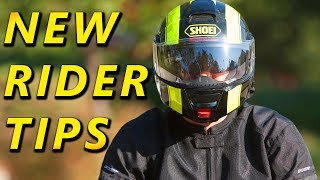 9 Tips for Begİnner Motorcycle Riders