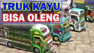 Kontes Miniatur Truk Oleng Dari Kayu Hampir Mirip Aslinya