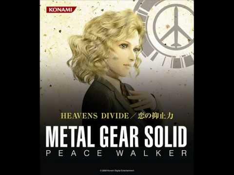 MGS Peace Walker - Heavens Divide - HD+Lyrics