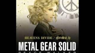 Repeat youtube video MGS Peace Walker - Heavens Divide - HD+Lyrics
