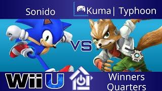 Typo @ The Lab 10/26/17 - Sonido (Sonic) vs Kuma| Typhoon (Fox) - Smash 4 Winners Quarters