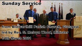 Sunday Worship, 14th March 2021