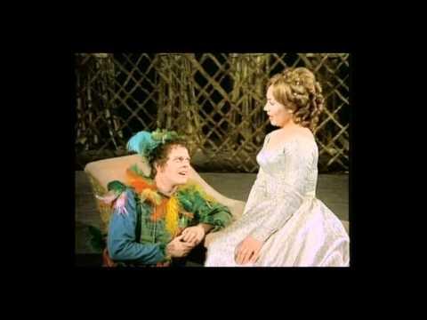 """Edith Mathis & William Workman - W.A. Mozart """"Die Zauberflöte""""  Bei Männern"""