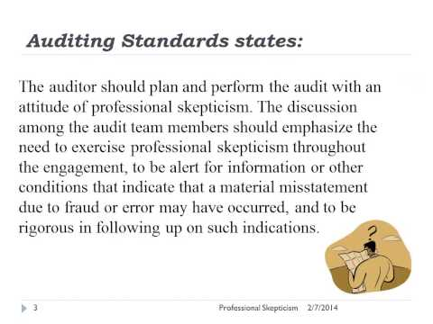 professional skepticism and auditors workpaper Research insights—auditor professional skepticism part i: incentives  and work  paper reviews) increase professional skepticism and sources.