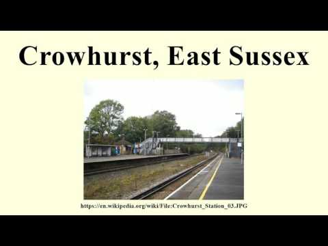 Crowhurst, East Sussex